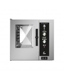 Four mixte programmable électrique avec lavage 5 niveaux GN 1/1 ALPHATECH