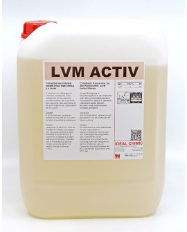 LVM ACTIV 12 kgs lavage vaisselle IDEAL CHIMIC