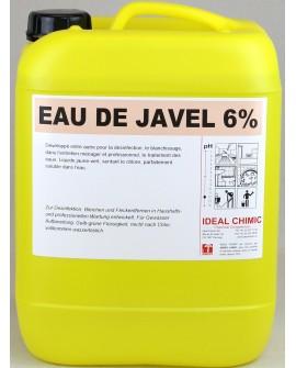 EAU DE JAVEL 6% 10 litres IDEAL