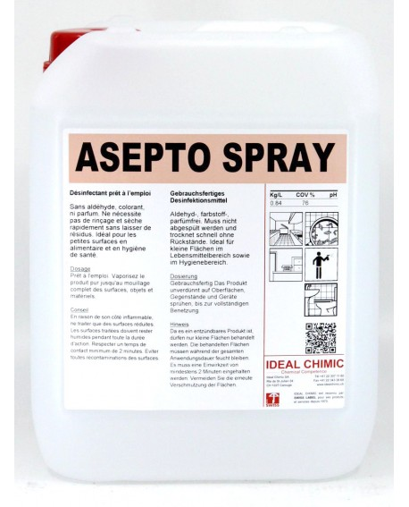 ASEPTO SPRAY 5 itres Ideal Chimic