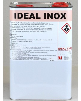 INOX METAL 5 litres IDEAL CHIMIC