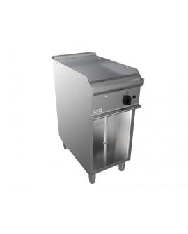 Fry-top EASY 700  lisse gaz sur placard ouvert CASTA