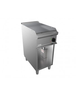 Fry-top EASY 700 électrique lisse sur placard ouvert CASTA