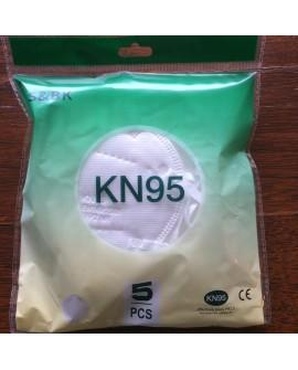 Masque FFP2 KN 95 par sachet de 5 unités .