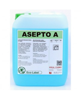 GEL HYDROALCOOLIQUE DESINFECTANT POUR LES MAINS ASEPTO A 5 LITRE IDEAL CHIMIC