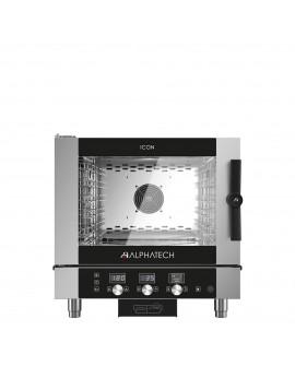 Four mixte ICON 5 niveaux GN 1/1 injection électrique électromécanique ALPHATECH
