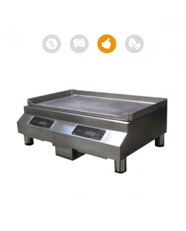 Plancha induction 2 zones Adventys 6000W