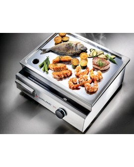 Grillade induction inox 5000W 1 zone Garland by INDUCS Suisse