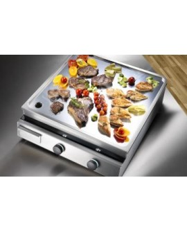 Grillade induction inox 10000W 2 zones Garland by INDUCS Suisse