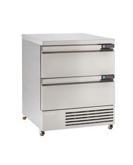 Soubassement réfrigéré FLEXDRAWER FFC4-2 tiroirs FOSTER