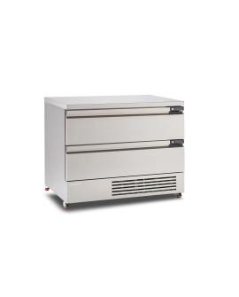 Soubassement réfrigéré FLEXDRAWER FFC6-2 tiroirs grande largeur FOSTER