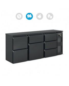 Comptoir bar 3 blocs tiroirs DSB-200 DOCRILUC