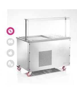 TeppIce TPICE1200 Corner  table de préparation glaces CASTA